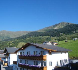 Blick zur Mittelstation Hotel Alpenroyal