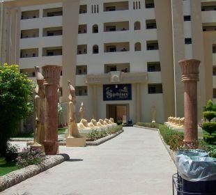 Wjescie boczne Sphinx Aqua Park Beach Resort