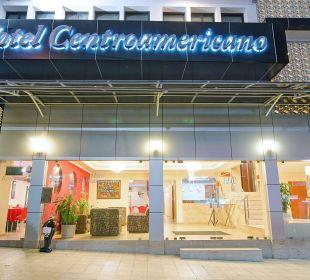 Night lobby Hotel Centroamericano