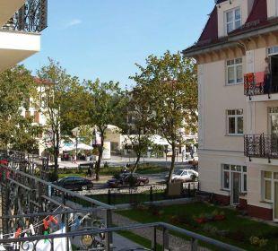 Blick vom Balkon Baltic Home Apartments