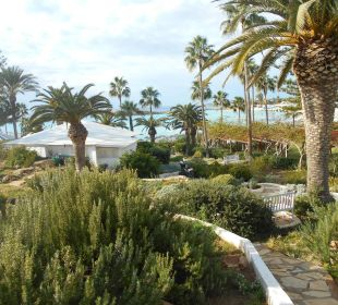 Weg zm Strand Hotel Nissi Beach Resort