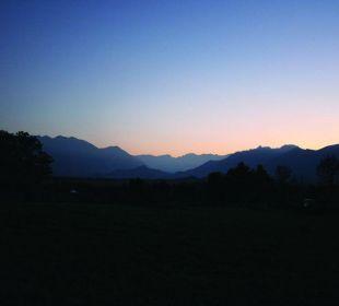 Aussicht/Ausblick Hotel Alpenhof Murnau