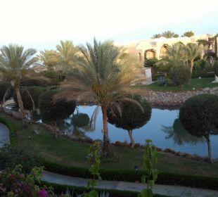 Ausblick aus Haus 14 Richtung Cafe Sissi TUI MAGIC LIFE Kalawy