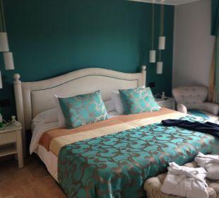 Schlafraum der Suite 1215 Hotel Lago Garden
