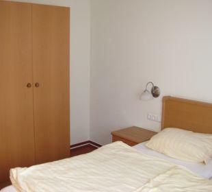 Elternschlafzimmer Ferienpark Bodetal