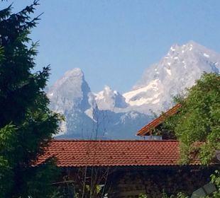 Wunderschöner Blick vom Balkon Apartments Ferienparadies Alpenglühn