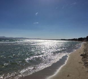 Richtung Playa de Muro  JS Hotel Sol de Alcudia