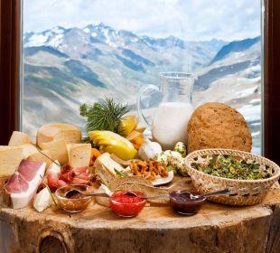 Regionale Spezialitäten aus Südtirol Glacier Hotel Grawand