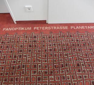 Teppich auf dem Flur ARCOTEL Rubin
