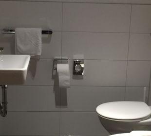 Großes Bad mit Fußbodenheizung Ringhotel Krone Schnetzenhausen
