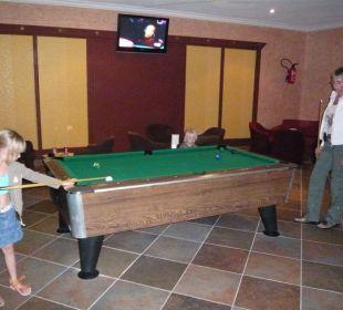 eine Runde Billard in der kinderfreundlichen Bar? Hotel Club Acquaviva