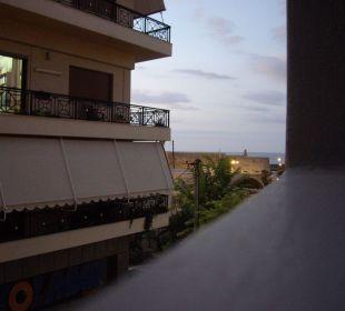 Aussicht vom Balkon Hotel Marin Dream