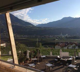 Blick von meinem Balkon Hotel Residenz Pazeider