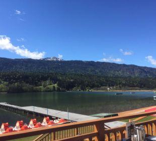 Terrasse im Erlebnispark Alpen Adria Hotel & Spa