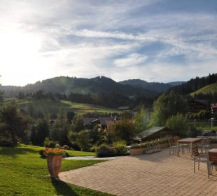 Perfekt für einen sonnigen Ausklang!  Romantik Hotel Hornberg