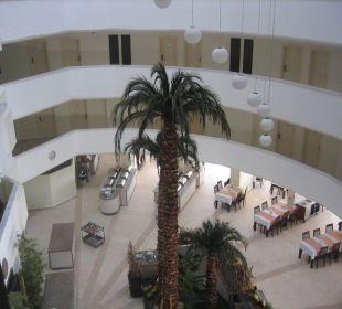 Blick auf den Speisesaal Hotel Arabella World