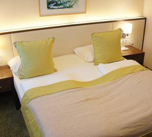 Bett Zimmer 51 Seehotel Rust