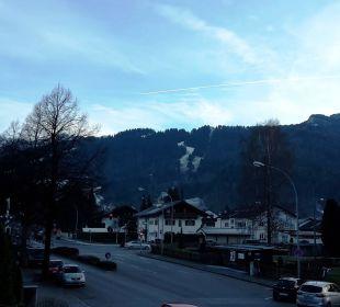 Ausblick Zimmer 1 Hotel Zugspitze