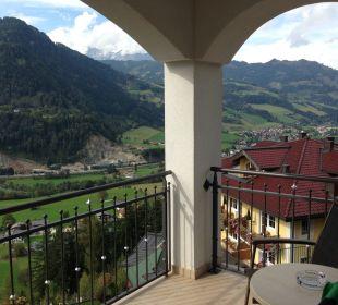 Blick vom Balkon nach Südwest Aktivhotel Alpendorf