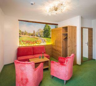 Suite - Wohnraum Mainau Hotel Alte Schule