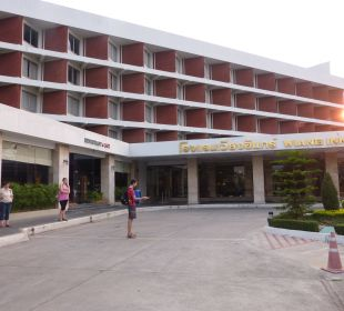 Hoteleingang Hotel Wiang Inn