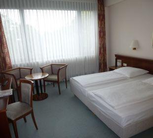 Zimmer 3. Stock zur Straße. Comfort Hotel Weißensee