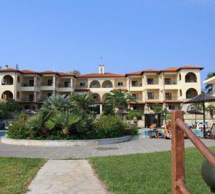 Hotelanlage von Meerseite
