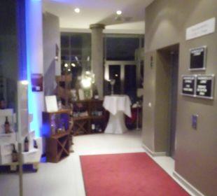 Eingangsbereich / Restauranteingang arcona Hotel am Havelufer