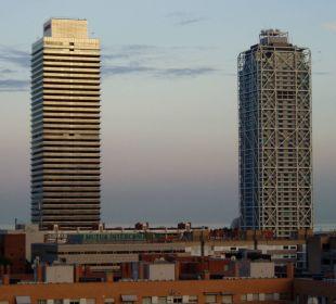 Richtung Strand Hotel H10 Marina Barcelona