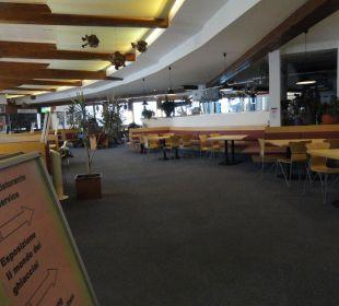 Selbstbedienungsrestaurant Glacier Hotel Grawand