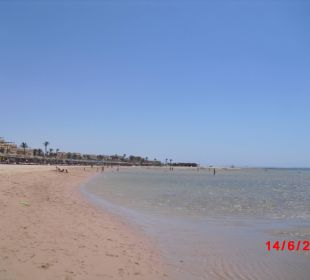 Hotel seitl. v. Strand aus gesehen