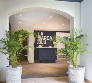 Lobby La Barca Blu  Hotel