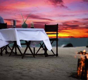 Privates Strand- Abendessen Hotel Banyan Tree Madivaru