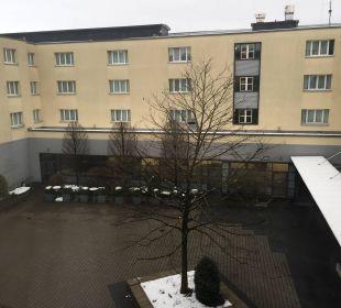 Innenhof Hotel Novotel München City