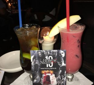 Riesige Getränkeauswahl in der Hoteleigenen Bar Hotel Colosseo Europa-Park