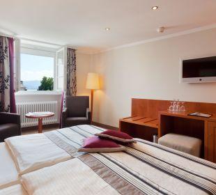 Doppelzimmer mit Seeblick Hotel Lindauer Hof