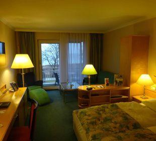 Zimmer (superior) mit Balkon in der 3 Ebene Maritim Hotel Kaiserhof Heringsdorf