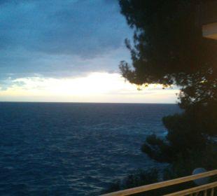 Blick von Terrasse Verudela Beach & Villa Resort