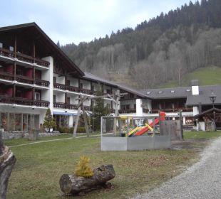 Hotelfront Forsthaus Graseck (Vorgänger-Hotel – existiert nicht mehr)