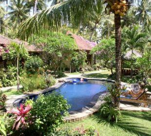 Entspannen im tropischen Garten Saraswati Holiday House