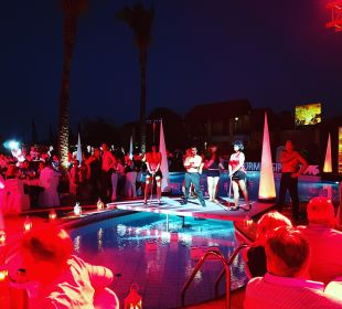 Sterne Dinner am Pool mit Show Club Aldiana Zypern