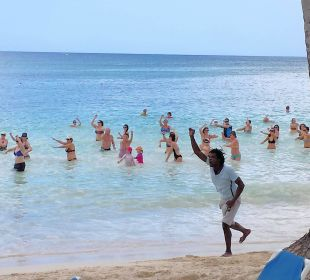 Wassergymnastik Dreams La Romana Resort & Spa