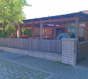 Biergarten Hotel Landgasthof Hubertus