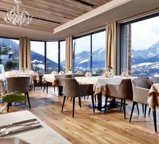 Restaurant mit Bergblick Hotel Bergkranz