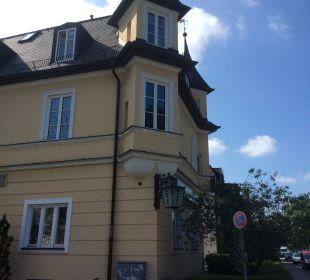 Aussenansicht Hotel Laimer Hof Schloß Nymphenburg