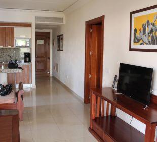 Küche u. Wohnbereich Marylanza Suites & Spa