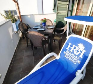 Balkon Wg ALOE mit BQQ Holiday Residence Rifugio