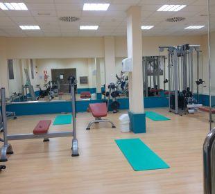 Fitnessraum Hotel Las Costas