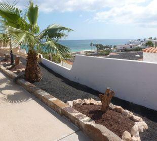 Blick zum Strand Bungalows Ultra Dos Calle Risco Blanco