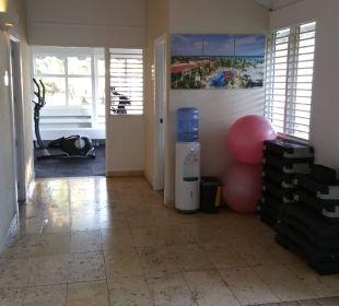Eingang Fitnessbereich Grand Bahia Principe El Portillo